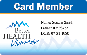 Better Health Member Card